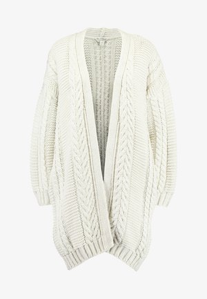CABLE CARDIGAN - Vest - cream