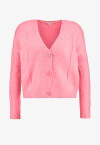 Miss Selfridge - CABLE CARDIGAN - Cardigan - bright pink - 4