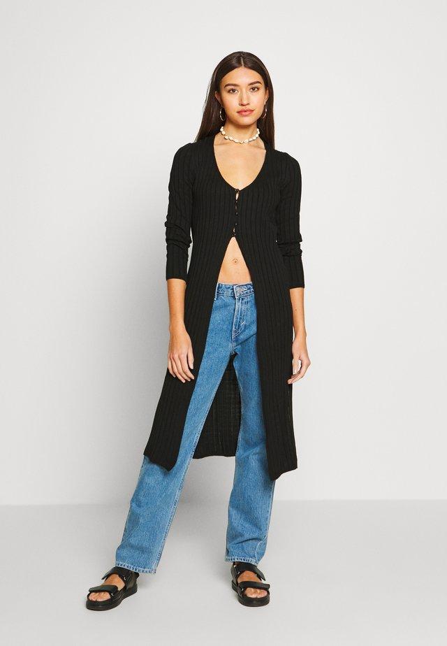 SLIM SPLIT  - Vest - black