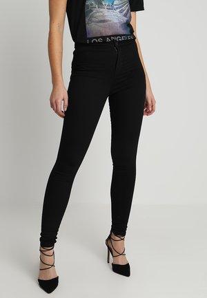 FLOW STEFFI - Jeans Skinny Fit - black