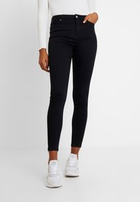Miss Selfridge - LIZZIE - Jeans Skinny Fit - black - 0