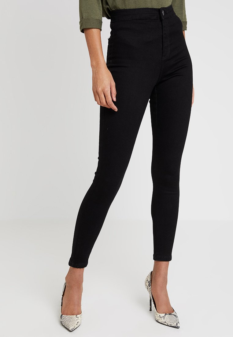 Miss Selfridge - STEFFI - Jeansy Skinny Fit - black