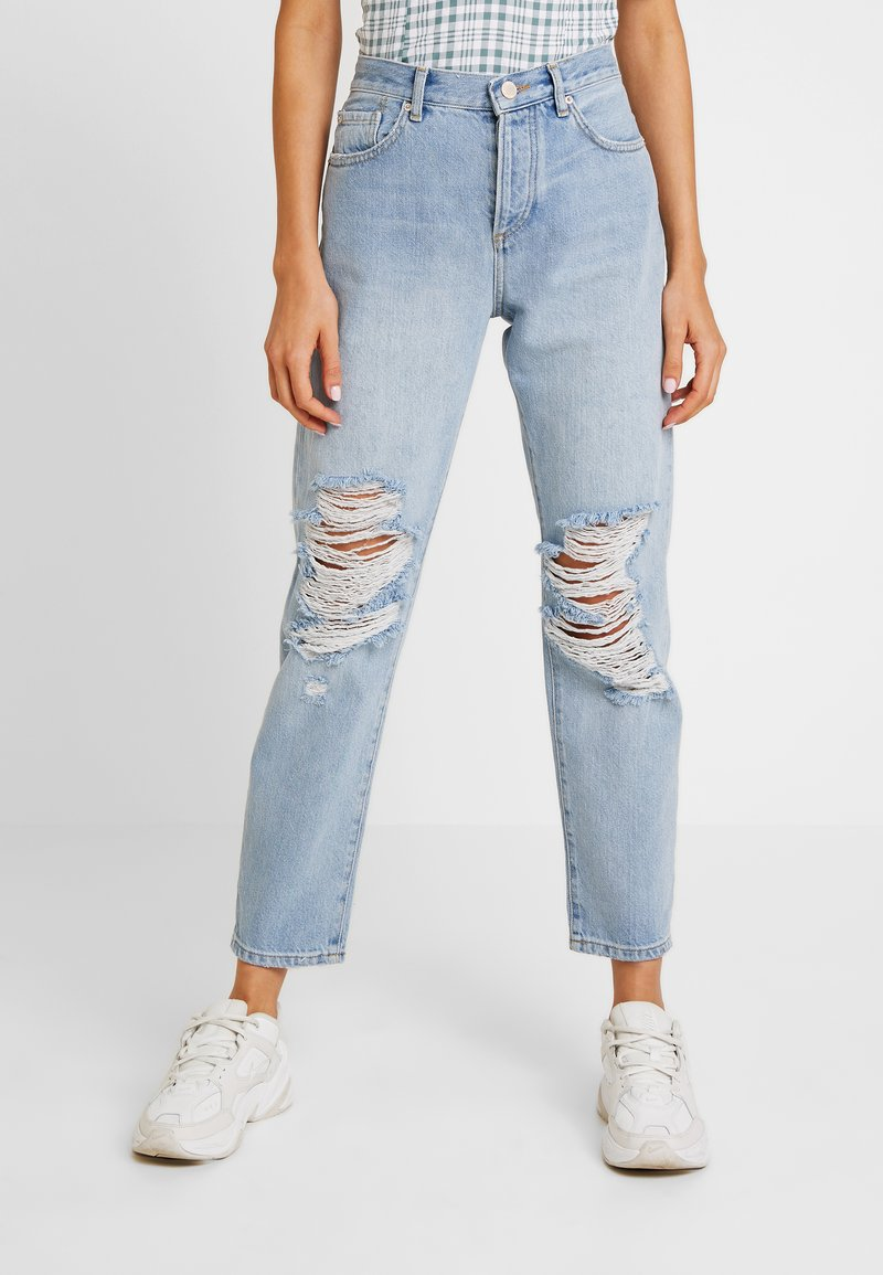 Miss Selfridge - EXTREME RIP - Jeans Relaxed Fit - light blue