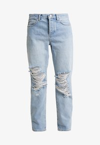Miss Selfridge - EXTREME RIP - Relaxed fit jeans - light blue - 5