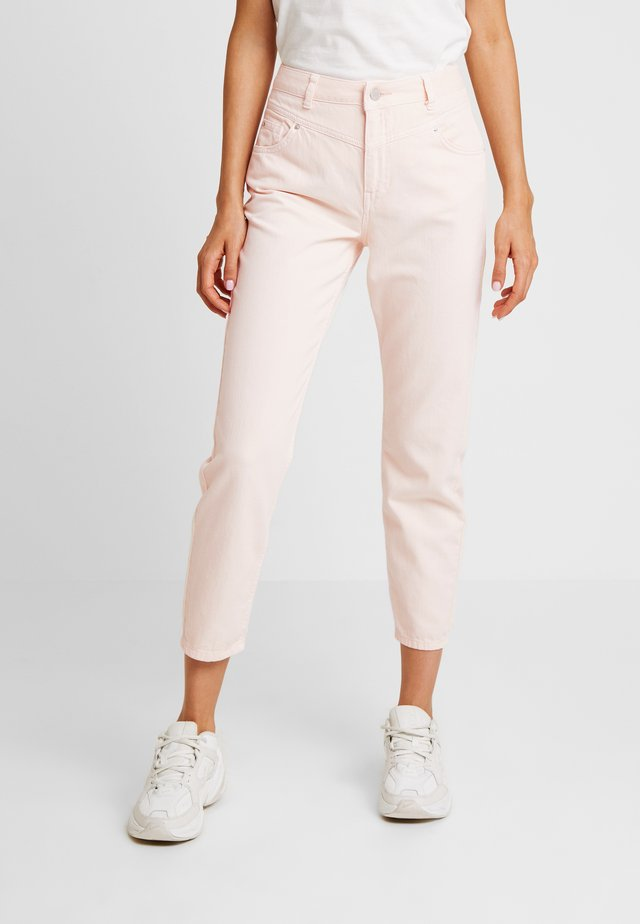 WAIST SEAM MOM  - Relaxed fit jeans - pink
