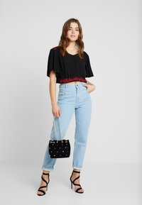 Miss Selfridge - WAIST SEAM MOM  - Džíny Relaxed Fit - blue - 1