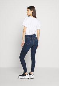 Miss Selfridge - JELLY RIPPED LIZZIE - Jeans Skinny Fit - blue - 2