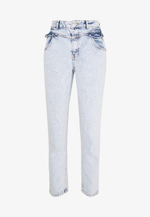 FRILL POCKET MOM  - Jeansy Relaxed Fit - light blue
