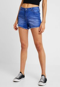 Miss Selfridge - Denim shorts - blue - 0