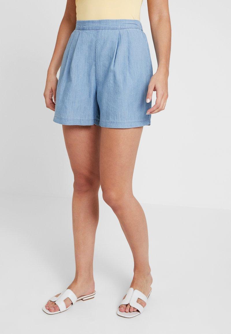 Miss Selfridge - FLAT FRONT - Shorts - blue