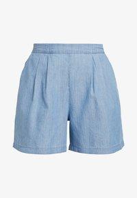 Miss Selfridge - FLAT FRONT - Shorts - blue - 3