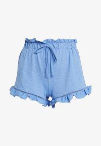 Miss Selfridge - RUFFLE HEM - Shortsit - pastel/powder blue - 3