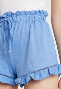 Miss Selfridge - RUFFLE HEM - Shortsit - pastel/powder blue - 4
