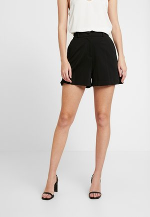 TUX  CONTRAST SHORT - Szorty - black