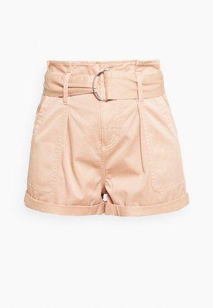HANG TAB BELTED - Shorts - light pink