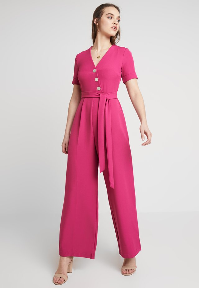 TAILORED BUTTON  - Jumpsuit - pink