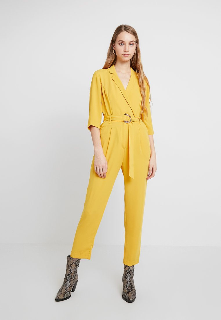 Miss Selfridge - WRAP - Jumpsuit - yellow