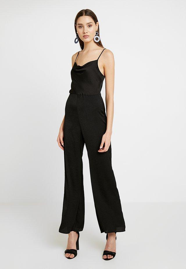 COWL NECK - Jumpsuit - black