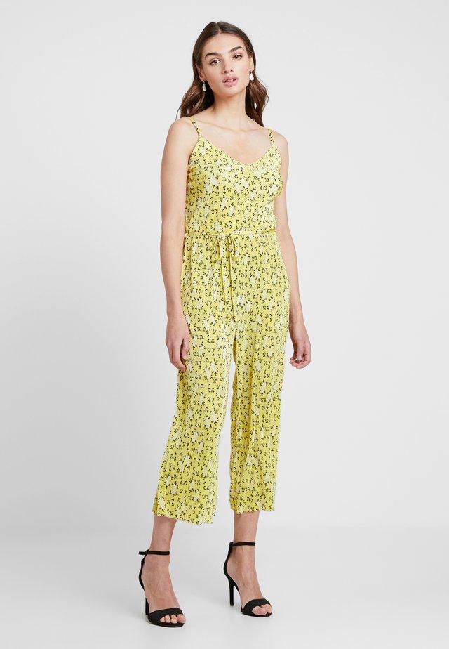 LEMON DITSY PLISSE CAMI - Jumpsuit - yellow