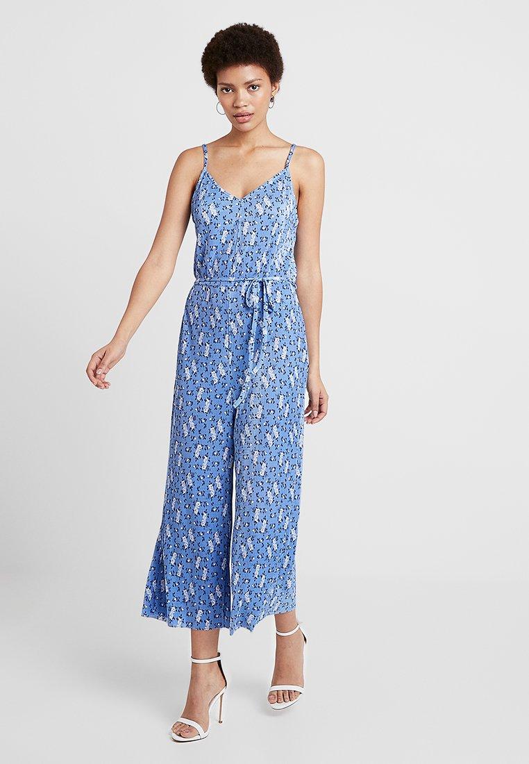 Miss Selfridge - DITSY CAMI - Tuta jumpsuit - blue