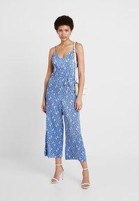 Miss Selfridge - DITSY CAMI - Tuta jumpsuit - blue - 1