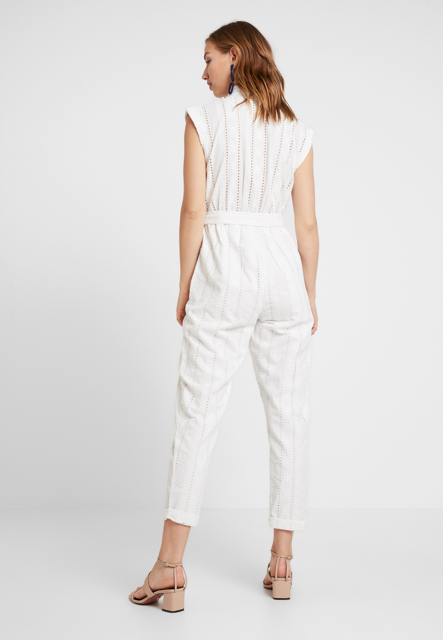 BroderieTuta Miss Ivory Selfridge Utility Jumpsuit fby76gY