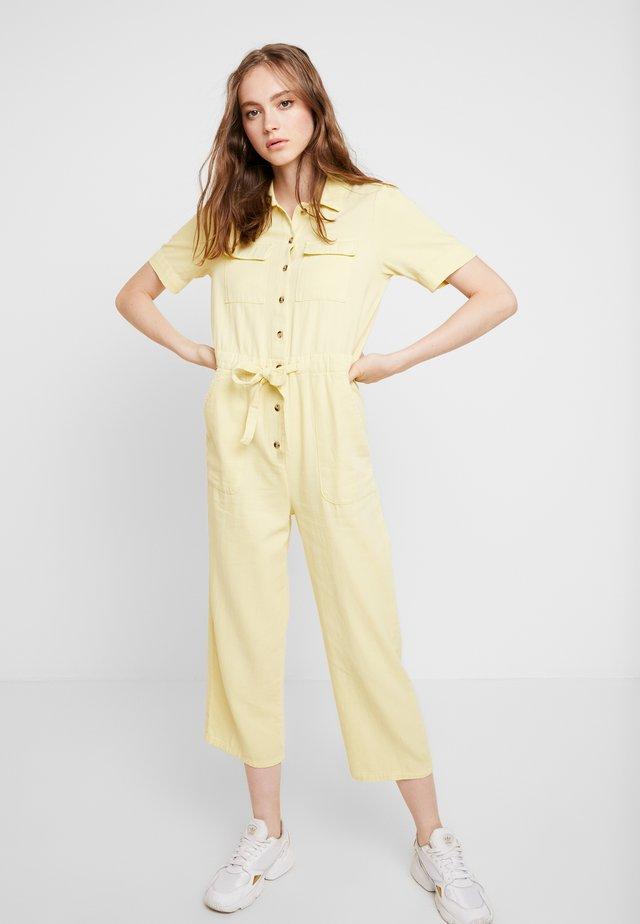 UTILITY CULOTTE - Jumpsuit - lemon