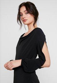 Miss Selfridge - COWL NECK - Jumpsuit - black - 5