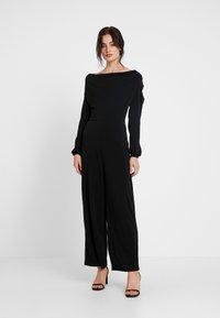 Miss Selfridge - COWL NECK - Jumpsuit - black - 0