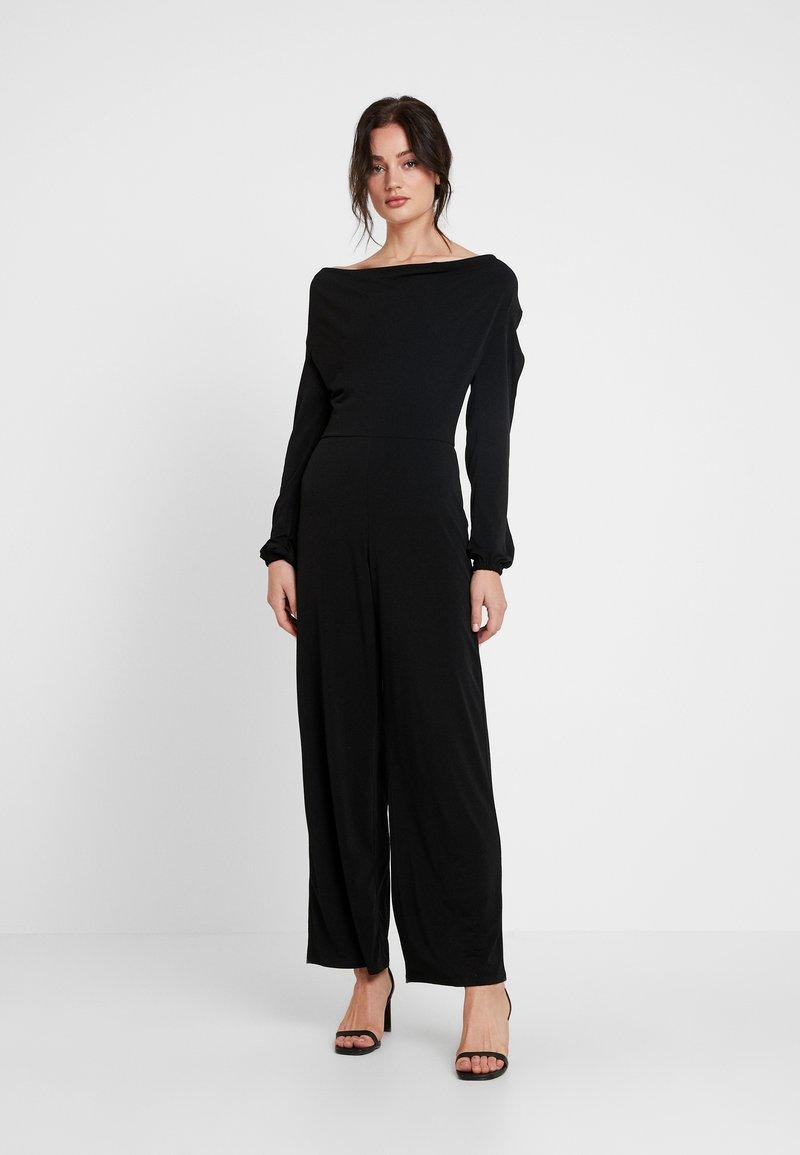 Miss Selfridge - COWL NECK - Jumpsuit - black