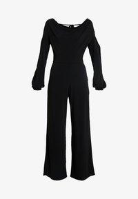 Miss Selfridge - COWL NECK - Jumpsuit - black - 4
