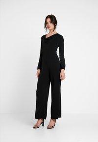 Miss Selfridge - COWL NECK - Jumpsuit - black - 1