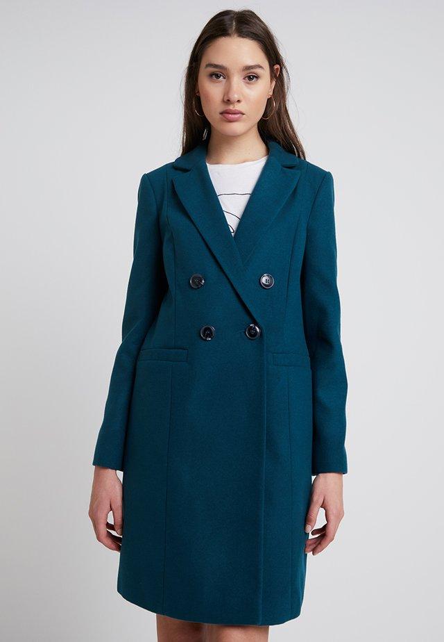 Classic coat - teal