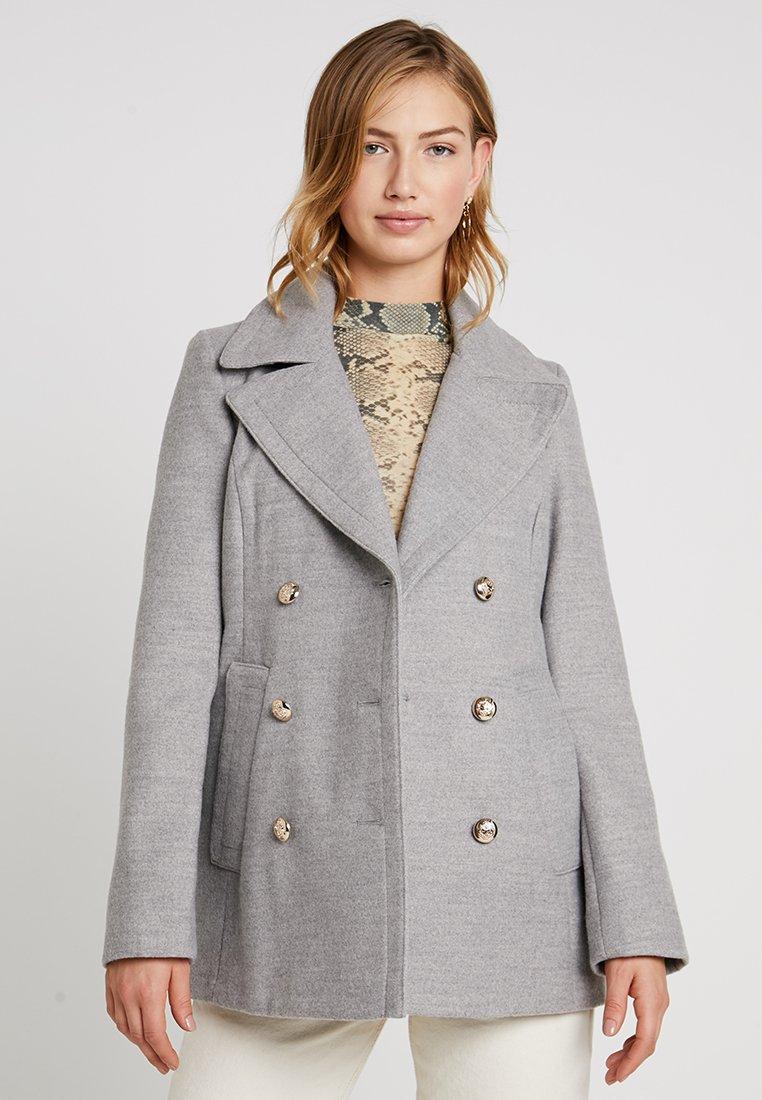 Miss Selfridge - MILITARY COAT - Korte frakker - grey