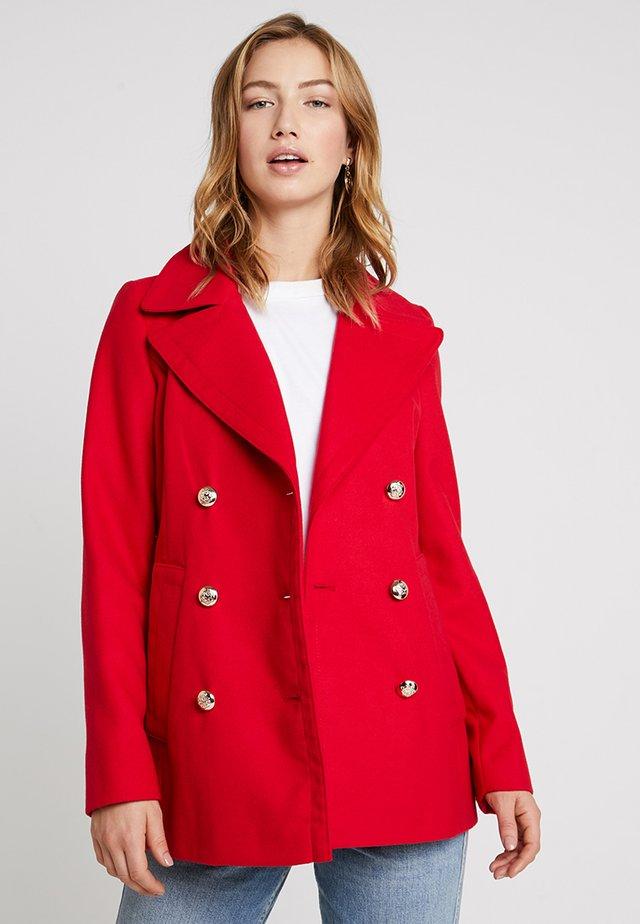 MILITARY COAT - Short coat - red