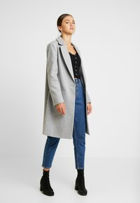 Miss Selfridge - Classic coat - grey - 1