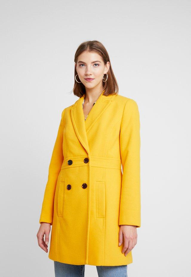 GEORGIA PEA - Classic coat - mustard exclusive