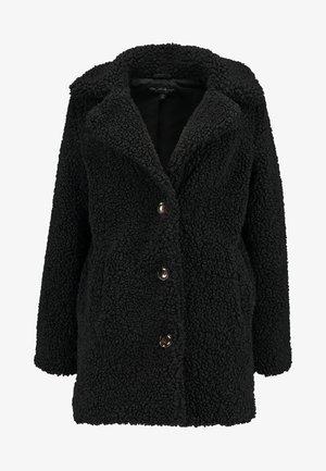 TEXTURE COAT - Zimní kabát - black