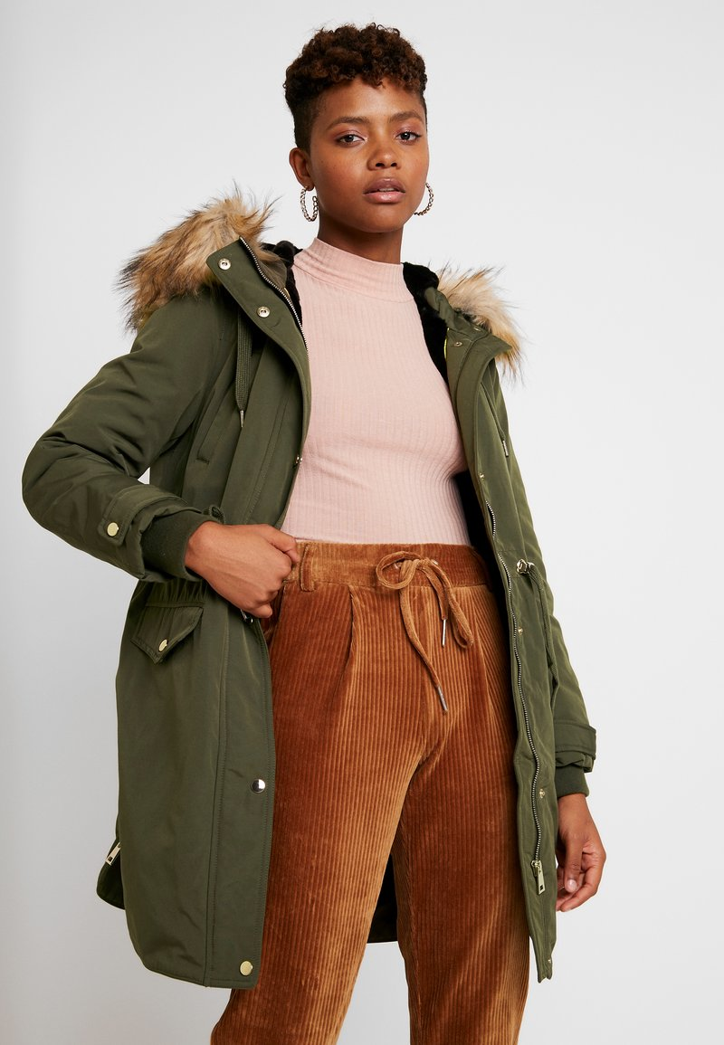 Miss Selfridge - LUXE - Parka - khaki