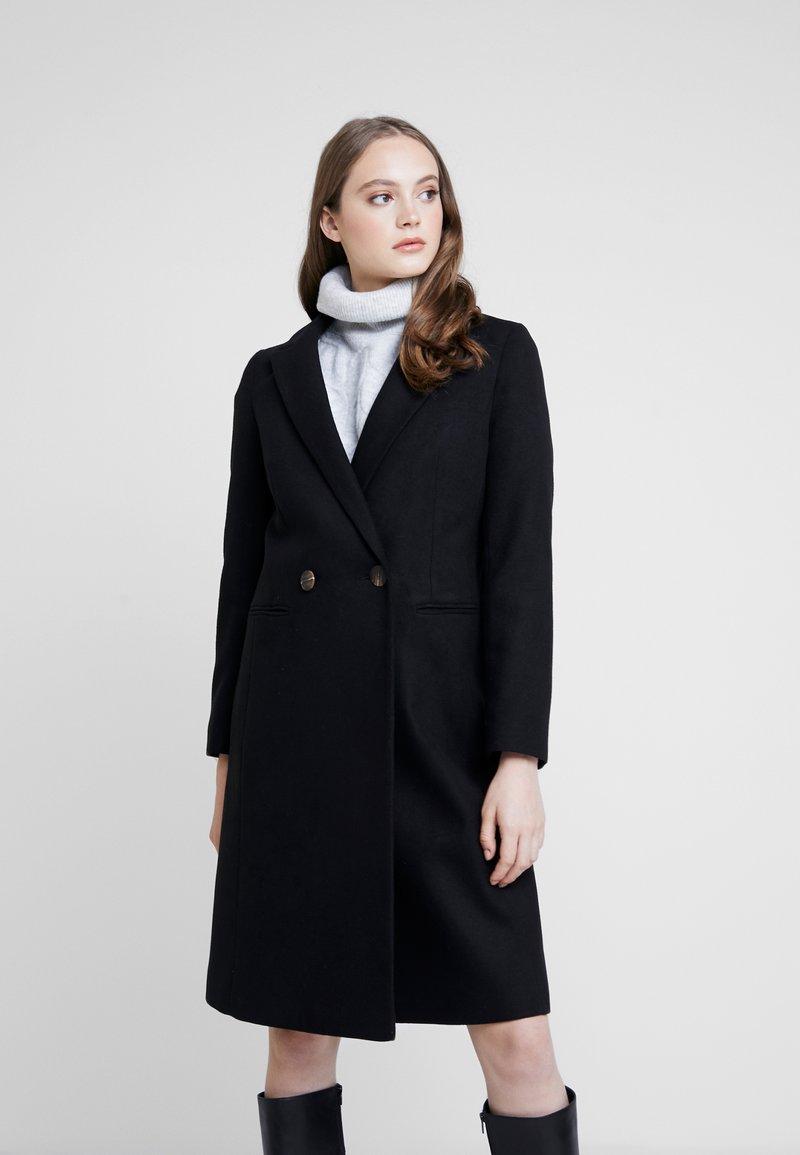 Miss Selfridge - Classic coat - black