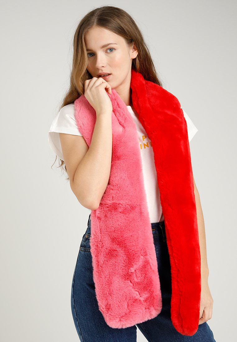 Miss Selfridge - TWO TONE SCARF - Schal - pink/red