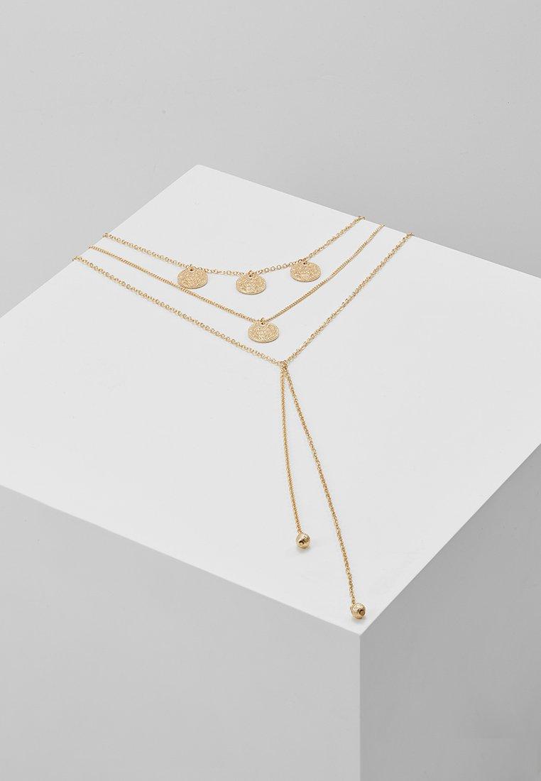 Miss Selfridge - COIN BEAD MROW - Naszyjnik - gold-coloured