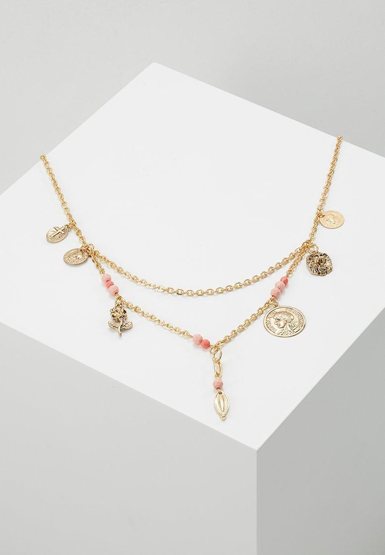 Miss Selfridge - SUMMER BEAD - Halskette - gold-coloured