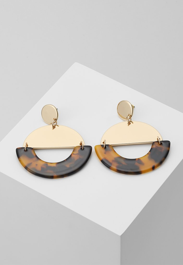 Miss Selfridge - WIN-OP TORT CIRCLE  - Pendientes - gold-coloured