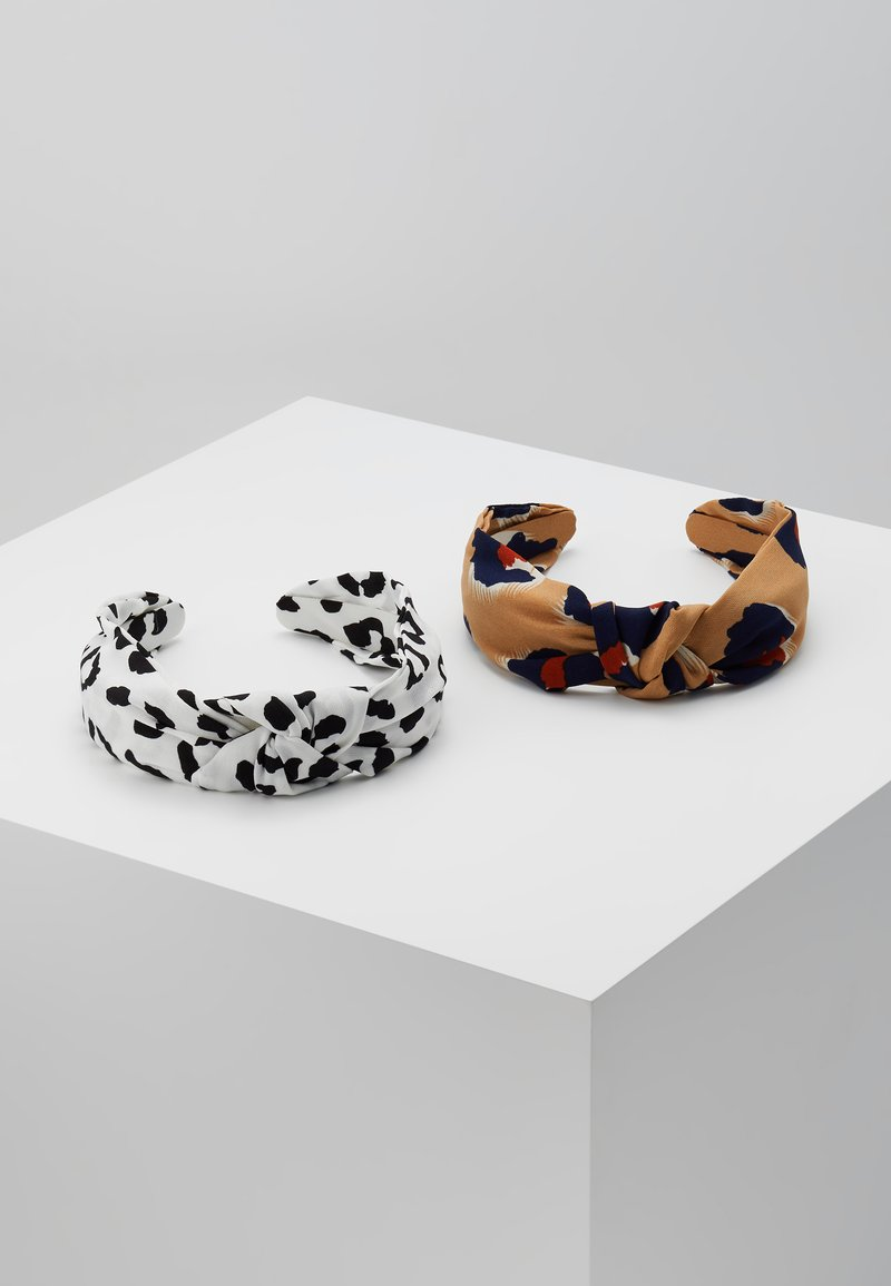 Miss Selfridge - LEOPARD PRINT HEADBAND 2 PACK - Haar-Styling-Accessoires - multi