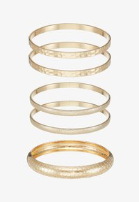 Miss Selfridge - ENGRAVED 5 PACK - Armbånd - gold-coloured - 3