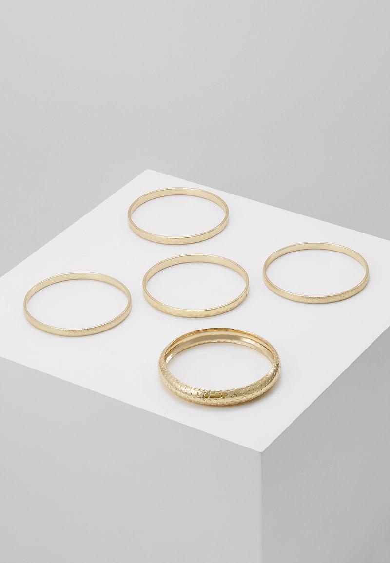Miss Selfridge - ENGRAVED 5 PACK - Armbånd - gold-coloured