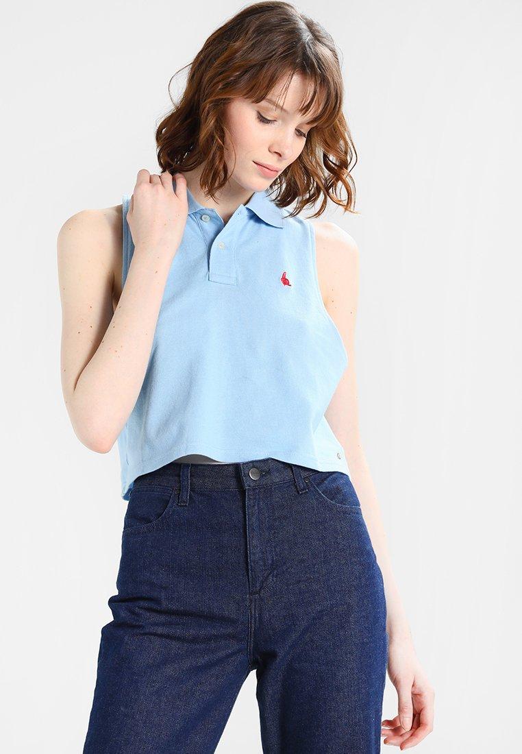 Monkee Genes - CROP - Polo shirt - light blue