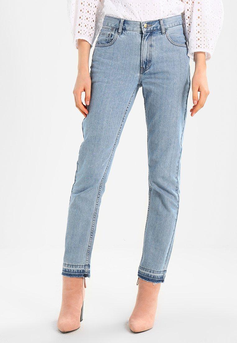 Monkee Genes - REBECCA - Slim fit jeans - dark busted hem