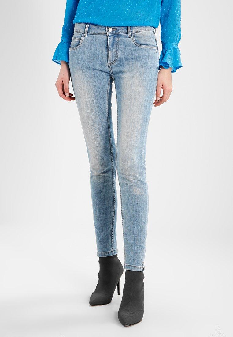 Monkee Genes - MONROE CROPPED - Jeans Skinny Fit - light blue denim